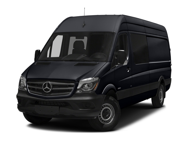 Black Blue 2017 Mercedes-Benz Sprinter Crew Van Pictures Sprinter Crew Van 2500 High Roof I4 170 RWD photos front view