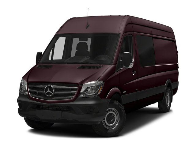 Velvet Red 2017 Mercedes-Benz Sprinter Crew Van Pictures Sprinter Crew Van 2500 High Roof I4 170 RWD photos front view