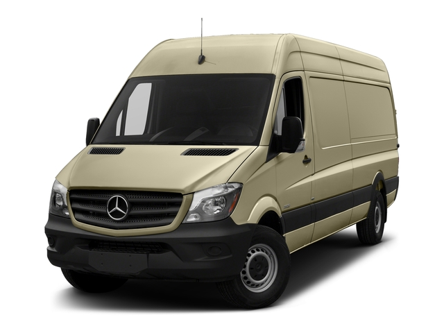 Pebble Gray 2017 Mercedes-Benz Sprinter Cargo Van Pictures Sprinter Cargo Van 2500 High Roof V6 170 RWD photos front view