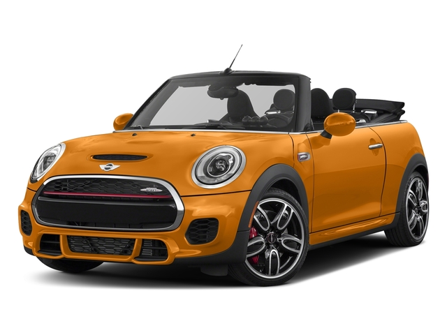 Volcanic Orange 2017 MINI Convertible Pictures Convertible Convertible 2D JCW I4 Turbo photos front view