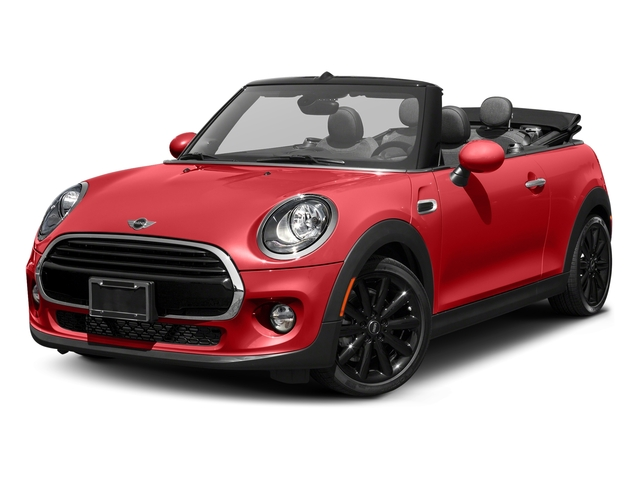Chili Red 2017 MINI Convertible Pictures Convertible Convertible 2D I3 Turbo photos front view