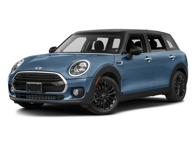 Digital Blue Metallic 2017 MINI Clubman Pictures Clubman Wagon 4D Clubman I3 Turbo photos front view