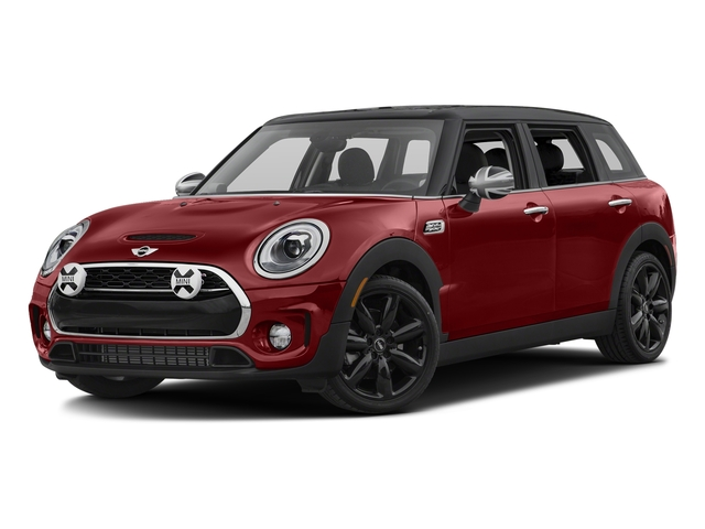 Blazing Red Metallic 2017 MINI Clubman Pictures Clubman Wagon 4D Clubman S AWD I4 Turbo photos front view