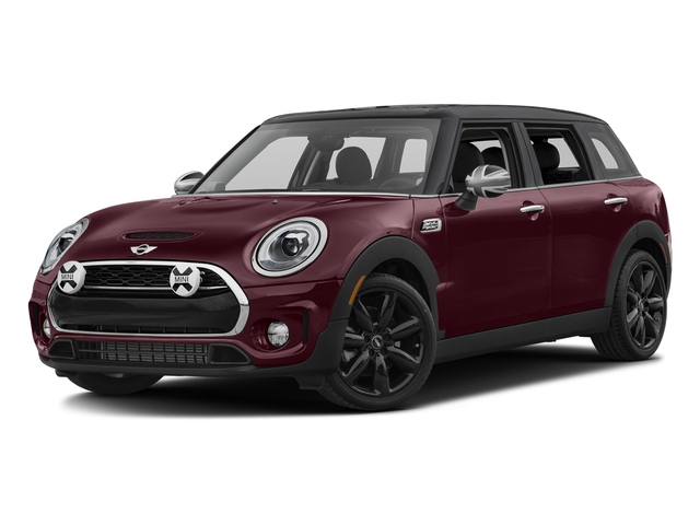 Pure Burgundy Metallic 2017 MINI Clubman Pictures Clubman Wagon 4D Clubman S AWD I4 Turbo photos front view