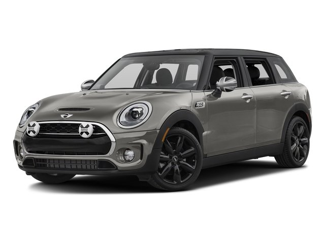 Melting Silver Metallic 2017 MINI Clubman Pictures Clubman Wagon 4D Clubman S AWD I4 Turbo photos front view