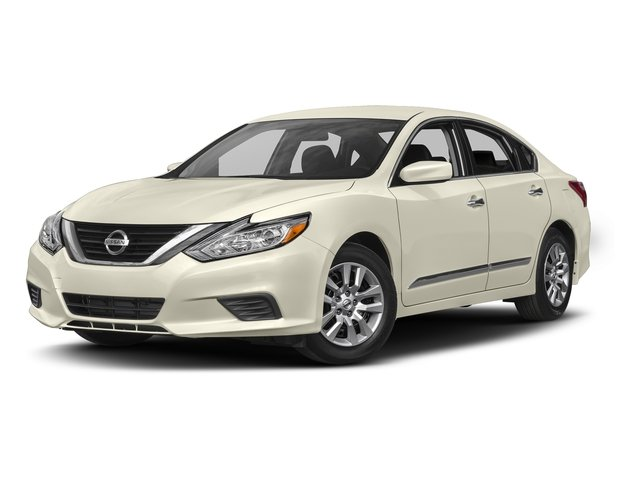 Pearl White 2017 Nissan Altima Pictures Altima 2.5 SV Sedan photos front view