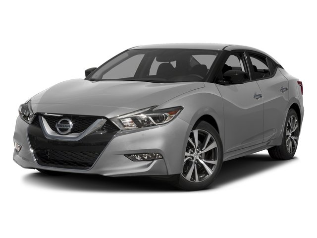 Brilliant Silver 2017 Nissan Maxima Pictures Maxima Sedan 4D SV V6 photos front view