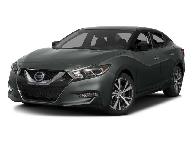 Gun Metallic 2017 Nissan Maxima Pictures Maxima Sedan 4D SV V6 photos front view