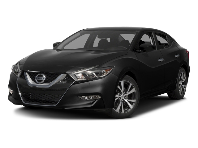 Super Black 2017 Nissan Maxima Pictures Maxima Sedan 4D SV V6 photos front view