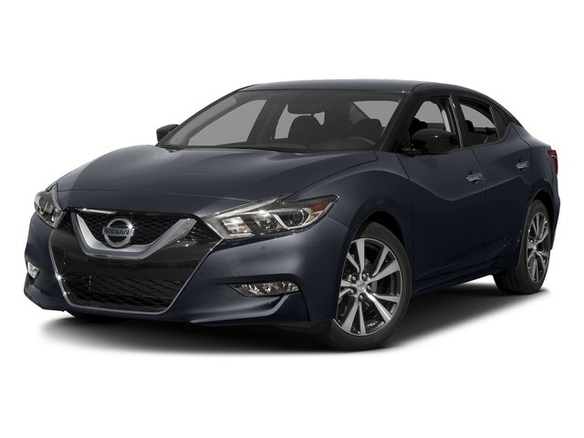 Storm Blue 2017 Nissan Maxima Pictures Maxima Sedan 4D SV V6 photos front view