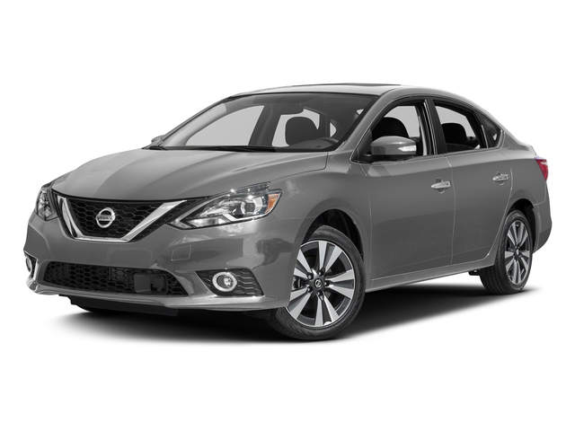 Brilliant Silver 2017 Nissan Sentra Pictures Sentra Sedan 4D SL I4 photos front view