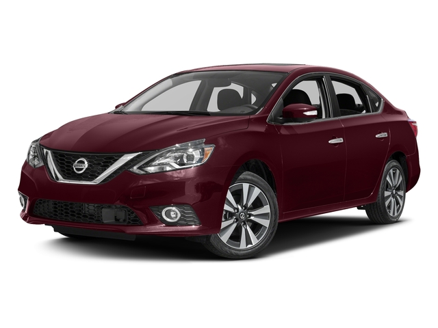 Palatial Ruby 2017 Nissan Sentra Pictures Sentra Sedan 4D SL I4 photos front view