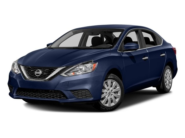 Deep Blue Pearl 2017 Nissan Sentra Pictures Sv Cvt Photos Front View