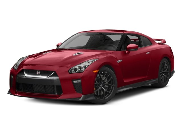 Solid Red 2017 Nissan GT-R Pictures GT-R Coupe 2D Track Edition AWD V6 Turbo photos front view