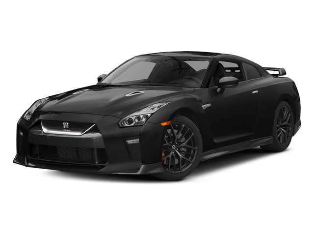 Jet Black Pearl 2017 Nissan GT-R Pictures GT-R Coupe 2D Track Edition AWD V6 Turbo photos front view