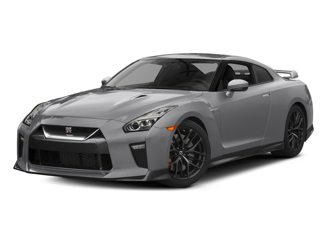 Super Silver Metallic 2017 Nissan GT-R Pictures GT-R Coupe 2D Track Edition AWD V6 Turbo photos front view