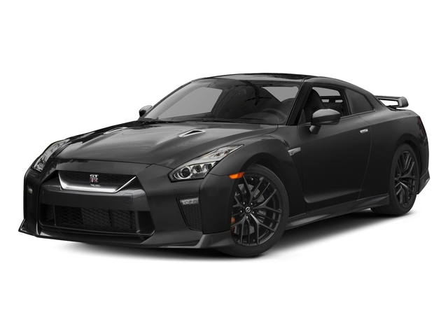 Gun Metallic 2017 Nissan GT-R Pictures GT-R Coupe 2D Track Edition AWD V6 Turbo photos front view