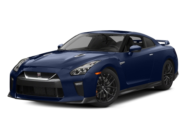 Deep Blue Pearl 2017 Nissan GT-R Pictures GT-R Coupe 2D Track Edition AWD V6 Turbo photos front view