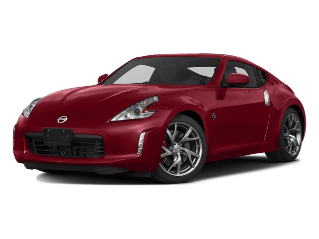 Solid Red 2017 Nissan 370Z Pictures 370Z Coupe Sport Auto photos front view