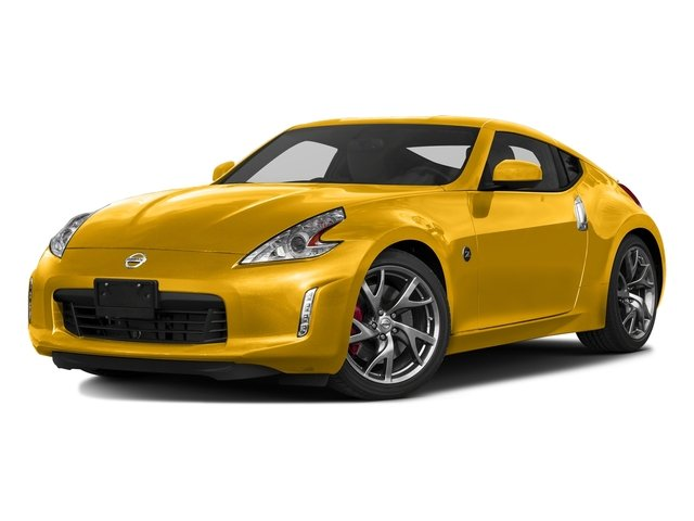 Chicane Yellow 2017 Nissan 370Z Pictures 370Z Coupe Touring Manual photos front view