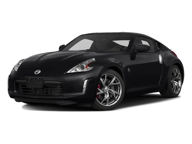 Magnetic Black 2017 Nissan 370Z Pictures 370Z Coupe Touring Manual photos front view