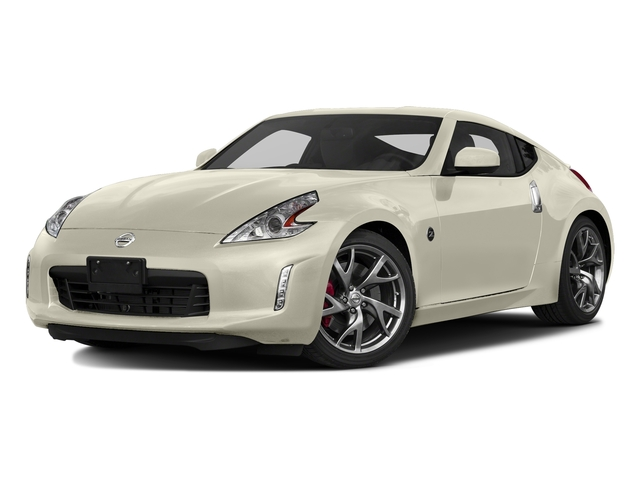 Pearl White 2017 Nissan 370Z Pictures 370Z Coupe Sport Auto photos front view