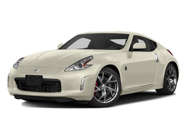 Pearl White 2017 Nissan 370Z Pictures 370Z Coupe Touring Manual photos front view