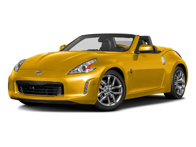 Chicane Yellow 2017 Nissan 370Z Pictures 370Z Roadster Touring Sport Auto photos front view