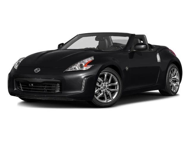 Magnetic Black 2017 Nissan 370Z Pictures 370Z Roadster Touring Sport Auto photos front view