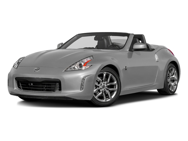 Brilliant Silver 2017 Nissan 370Z Pictures 370Z Roadster Touring Sport Auto photos front view