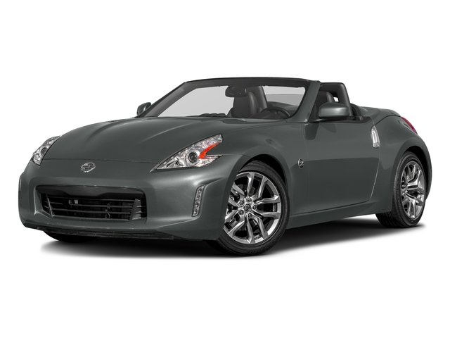 Gun Metallic 2017 Nissan 370Z Pictures 370Z Roadster Touring Sport Auto photos front view