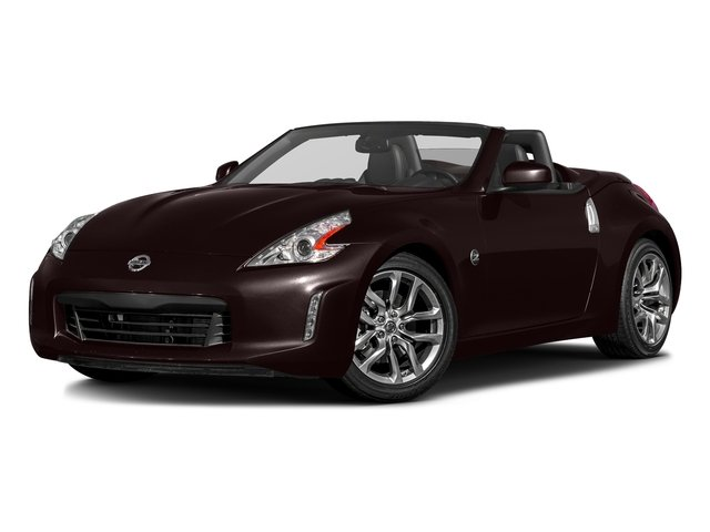 Black Cherry 2017 Nissan 370Z Pictures 370Z Roadster Touring Sport Auto photos front view