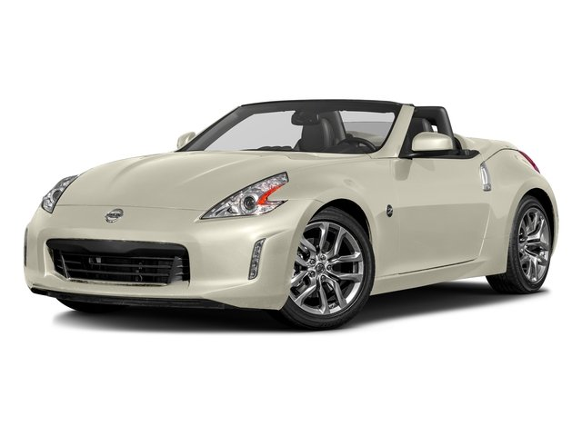 Pearl White 2017 Nissan 370Z Pictures 370Z Roadster Touring Sport Auto photos front view