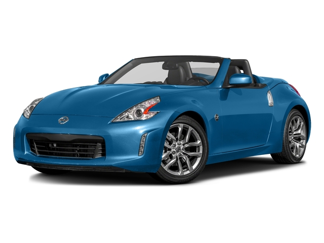 Deep Blue Pearl 2017 Nissan 370Z Pictures 370Z Roadster Touring Sport Auto photos front view