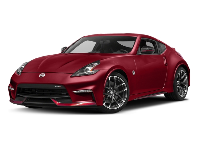 Solid Red 2017 Nissan 370Z Pictures 370Z Coupe 2D NISMO Tech V6 photos front view