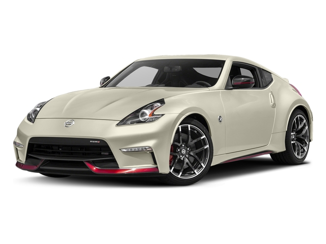 Pearl White 2017 Nissan 370Z Pictures 370Z Coupe 2D NISMO Tech V6 photos front view