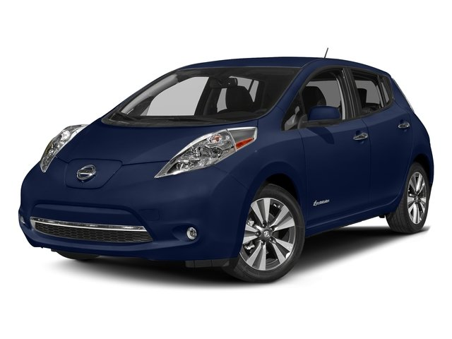Deep Blue Pearl 2017 Nissan LEAF Pictures LEAF SV Hatchback photos front view