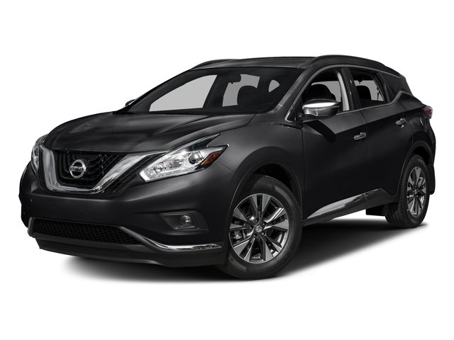 Magnetic Black Metallic 2017 Nissan Murano Pictures Murano Utility 4D SV AWD V6 photos front view