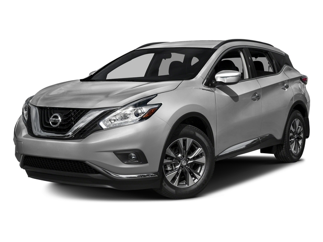 Brilliant Silver Metallic 2017 Nissan Murano Pictures Murano Utility 4D SV AWD V6 photos front view