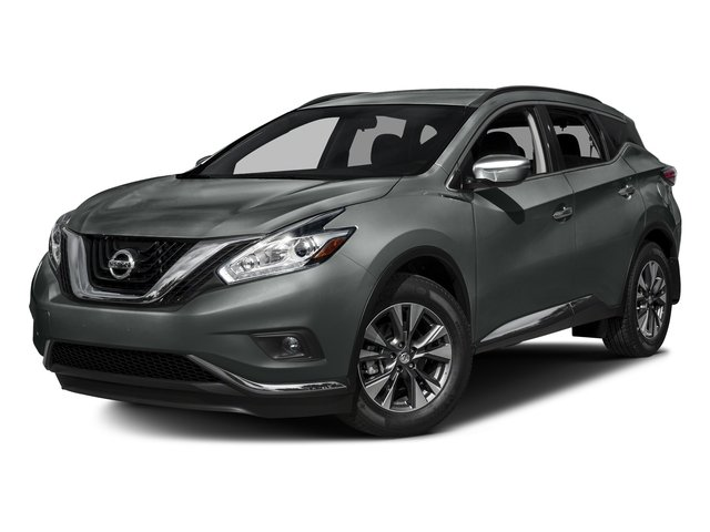 Gun Metallic 2017 Nissan Murano Pictures Murano 2017.5 FWD SV photos front view