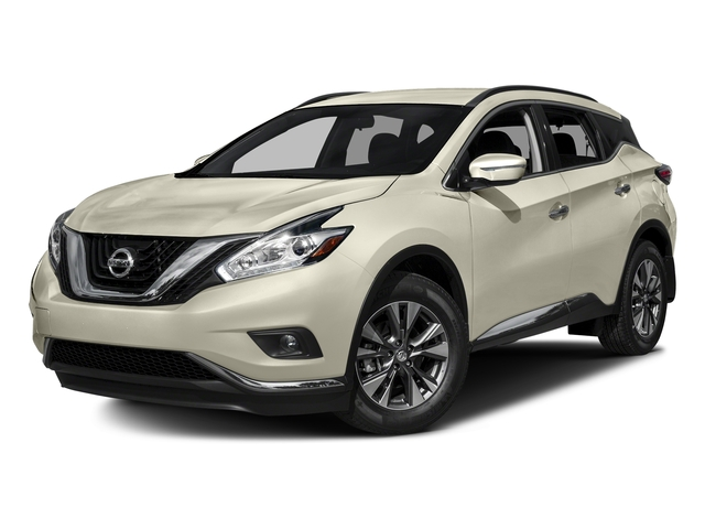 Pearl White 2017 Nissan Murano Pictures Murano AWD SV photos front view