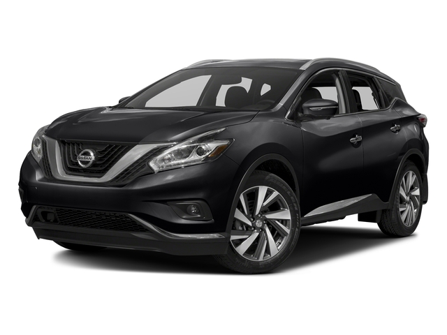 Magnetic Black Metallic 2017 Nissan Murano Pictures Murano 2017.5 FWD Platinum photos front view