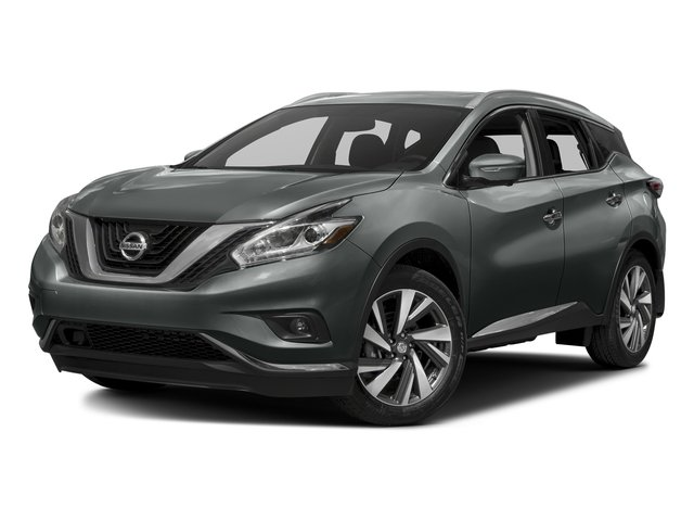 Gun Metallic 2017 Nissan Murano Pictures Murano 2017.5 FWD Platinum photos front view