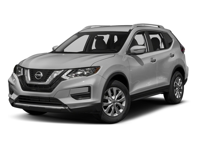 Brilliant Silver 2017 Nissan Rogue Pictures Rogue Utility 4D S 2WD I4 photos front view