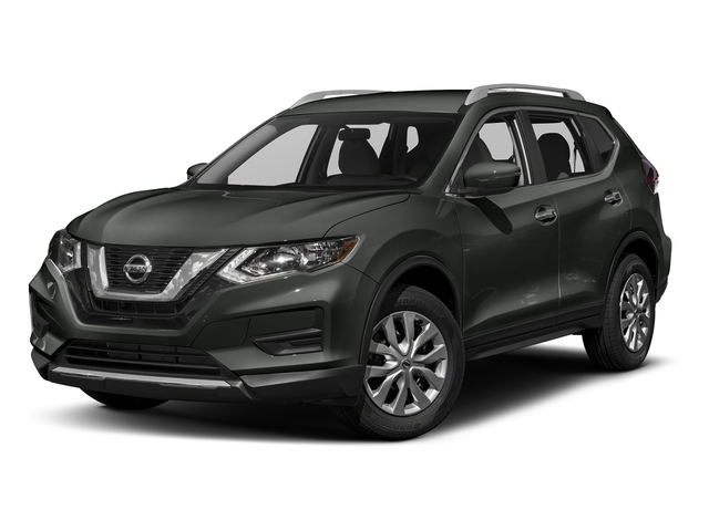 Gun Metallic 2017 Nissan Rogue Pictures Rogue Utility 4D S 2WD I4 photos front view