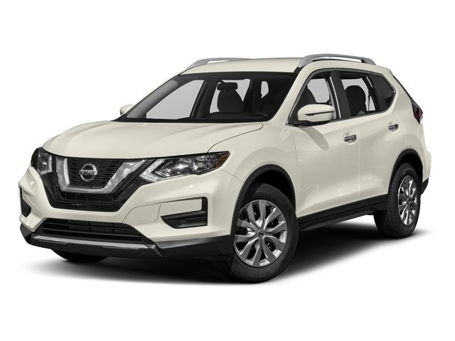 Glacier White 2017 Nissan Rogue Pictures Rogue Utility 4D S 2WD I4 photos front view
