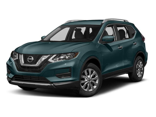 Caspian Blue 2017 Nissan Rogue Pictures Rogue Utility 4D S 2WD I4 photos front view
