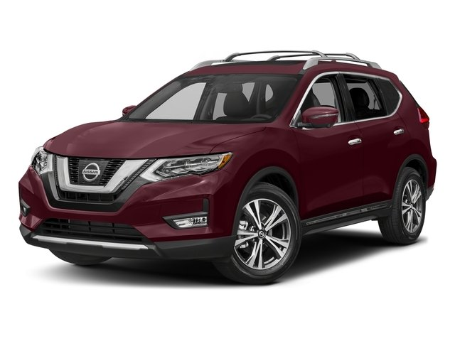 Palatial Ruby 2017 Nissan Rogue Pictures Rogue Utility 4D SL AWD I4 photos front view