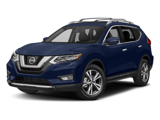 Caspian Blue 2017 Nissan Rogue Pictures Rogue Utility 4D SL AWD I4 photos front view