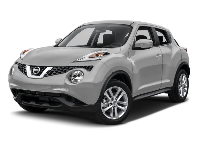 Brilliant Silver 2017 Nissan JUKE Pictures JUKE Utility 4D S 2WD I4 Turbo photos front view